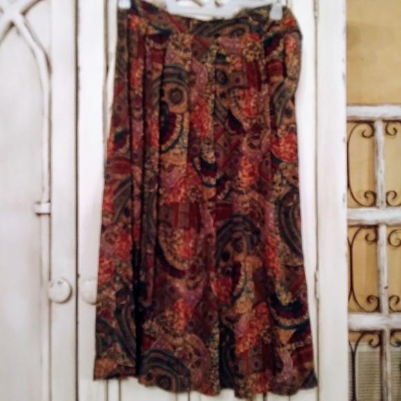 Worthington Dresses & Skirts - Boho print skirt